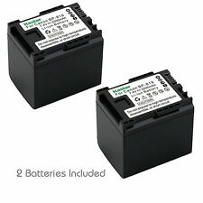 2x Kastar Battery for Canon BP-819 VIVIXA HG20 HG21 XA10
