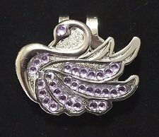 LILAC SWAN MAGNETIC HAT CLIP BALL MARKER NEW