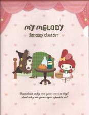 Sanrio My Melody Kuromi Folder Portfolio Side Open Fantasy Theatre