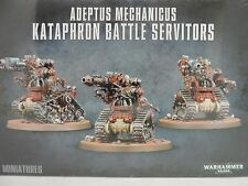 Warhammer 40k Adeptus Mechanicus Kataphron Battle Servitors NIB