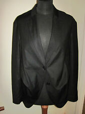FULL CIRCLE TROUSER & WATERFALL Jacket Suit 10 LONG New BLACK TUX TUXEDO