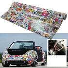 "New 60"" x 20"" Panda CARTOON GRAFFITI Car Sticker BOMB WRAP SHEET DECAL STICKER"