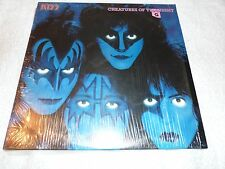 KISS LP CREATURES OF THE NIGHT  WITH POSTER