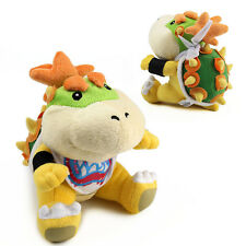 7IN BOWSER KOOPA JR. Super Mario Bros Plush Soft Toy Stuffed Animal Doll Teddy