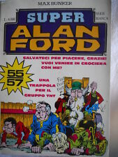 Alan Ford Super Alan Ford Serie BIANCA n°19 (nr 55-56-57)  [G308]