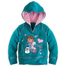 DOC MCSTUFFINS HOODIE PULLOVER GIRLS SIZE 7/8 COORDINATING PANTS AVAILABLE