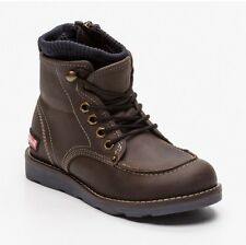 Levi's Boy's Kid's High top shoes Wiscon brown and navy blue UK 3.5 EU 36
