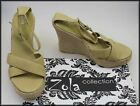 ZOLA WOMEN'S WEDGE HEELS STRAPPY OPEN-TOE SANDALS SHOES SIZE 8, EUR 39 NEW
