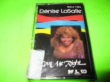 NEW FACTORY SEALED: DENISE LASALLE LOVE ME RIGHT ~ CASSETTE TAPE