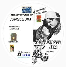 ADVENTURES OF JUNGLE JIM - 476 Shows Old Time Radio In MP3 Format OTR On 4 CDs