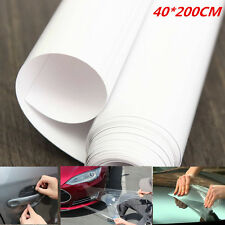 Car Body Paint/Interior Protection Anti-Scratch Anti-Static Clear Film Vinyl New