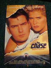 THE CHASE - MOVIE POSTER WITH CHARLIE SHEEN
