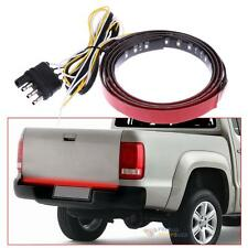 "22W 49"" Flexible LED Car Truck Bar Red and White 12V 72LED Strip Tailgate Light"