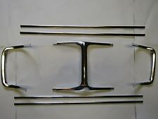 Mopar 69 Charger Grille Trim Mouldings 1969 Grill  NEW