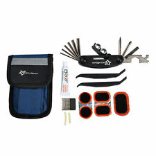 RockBros Bicycle Portable Tyre Repair Kit Tools Bag With Multi-function Tool New