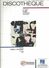 """U2-DISCTHEQUE"" PIANO/VOCAL/GUITAR SHEET MUSIC-NEW RARE ON SALE-BONO/THE EDGE!!"