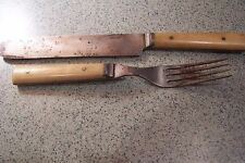 Antique Russell Green River Works  Knife and Fork
