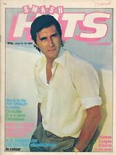 Bryan Ferry on Smash Hits Magazine Cover 1980   Squeeze   OMD   Matchbox