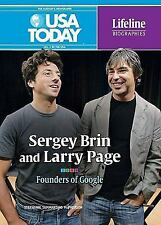 Sergey Brin and Larry Page: Founders of Google (USA Today Lifeline Bio-ExLibrary