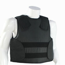 NIJ 3A IIIA Level Bulletproof Vest Body Armor Stronger Than Kevlar Size Large