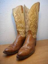 DAN POST 10D Leather Reptile Skin Western Rodeo Cowboy Boots #J32
