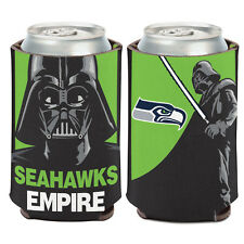 Seattle Seahawks Darth Vader Can Cooler 12 oz. Star Wars NFL Koozie