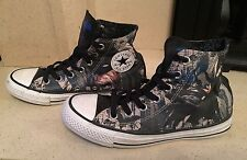 Batman Edición Limitada Converse All Star Hi Top Zapatillas De Lona Talla 4