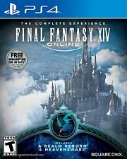 Final Fantasy XIV Online: A Realm Reborn & Heavensward [Playstation 4 RPG] NEW