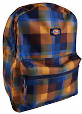 NWT DICKIES RECESS Backpack Multi-Color Plaid Unisex Book/School Bag Authentic