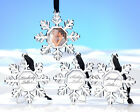 48 Snowflake Place Card Holders Ornaments Winter Wedding Favors Lot Q31707