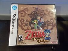 Legend of Zelda Phantom Hourglass Nintendo DS NDS GAME TESTED COMPLETE MANUAL