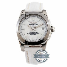 Breitling Galactic Sleek T W7433012/A779 Quartz Steel Tungsten MOP Ladies Watch