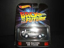 Hot Wheels DeLorean Time Machine Mr Fusion Back to the Future Part I 1/64
