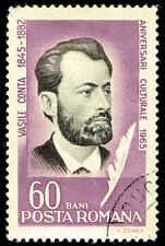 Scott # 1740 - 1965 - ' Vasile Conta, Philosopher '; Portrait in Black