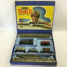 Vintage Boxed Hornby Dublo EDG17 Tank Goods Train Set A/F Not Working