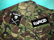 Rancid Skull Out Come The Wolves Punk Camouflage Army Shirt Jacket Time Bomb