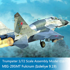 Trumpeter 01676 1/72 Russian MIG-29SMT Fulcrum(Izdeliye 9.19) Military Fighter