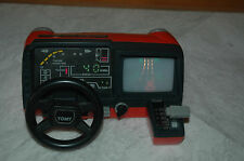 TOMY RACING COCKPIT Table Console Handheld Game 80s Very Rare!