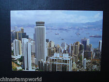 old China HK postcard,new buildings of central and wan chai of HK no.70