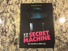 GLOBE SECRET MACHINE RARE VERY GOOD DVD 2006 SURFING TAJ BURROW, CJ HOBGOOD OOP!