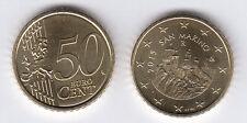 SAN MARINO MONETA EURO CENT. 50 2015  FDC UNC PREZZO  REGALO DA ROTOLO ZECCA