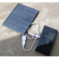 USB Charger 6V 3.5W Solar Panel Power Bank For Power Cell Phone PC Tablet MP3 SM