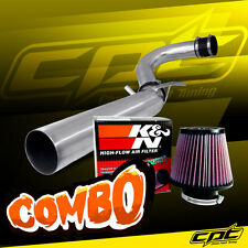 11-16 Dodge Charger/Challenger 3.6L V6 Polish Cold Air Intake + K&N Air Filter