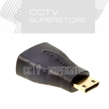 Mini HDMI (Type C) Male to HDMI (Type A) Female Adapter Connector For HDTV