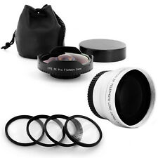 Extreme Wide Fisheye Lens + Tele + Macro fo Olympus PEN E-PL3 P3 PL2 PL5 PL6 PL7