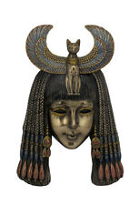 Bastet Headdress Mask Egyptian Wall Plaque Sculpture