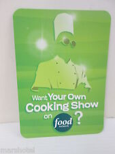 FOOD NETWORK GREAT BIG SHOW NEXT FOOD STAR PROMO TRADING TRADE CARD
