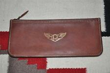 Ralph Lauren RRL Distressed Leather Travel Pouch Bag Long Wallet