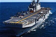 New 5x7 U.S. Navy Photo: USS SAIPAN (LHA-2) Tarawa-class Amphibious Assault Ship