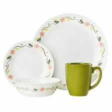 Corelle tangerine garden 16 PC dinnerware set Limited edition paypal